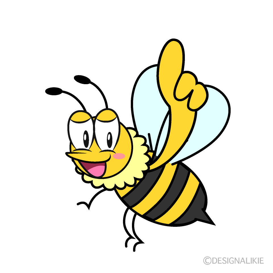 Posing Honey Bee