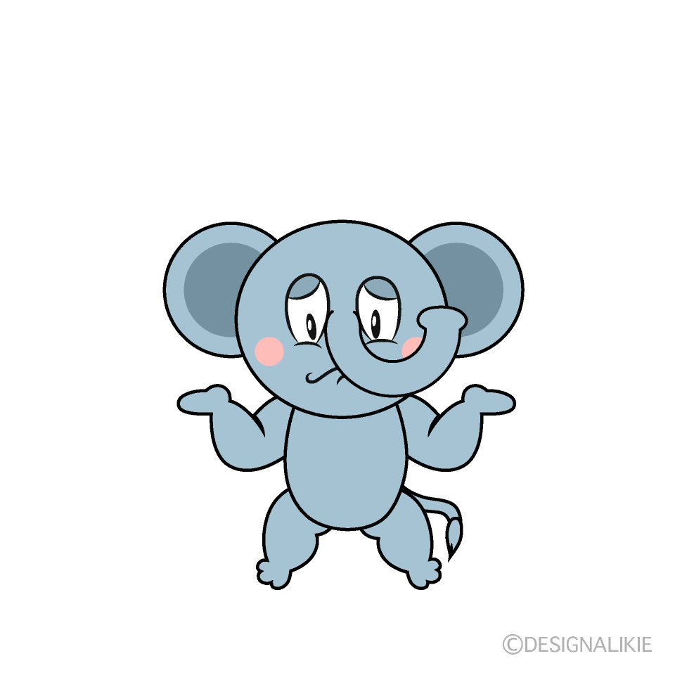 Troubled Elephant
