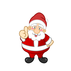 Thumbs up Santa