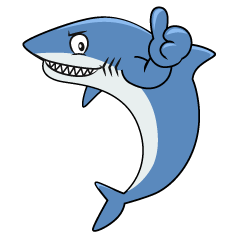 Thumbs up Shark