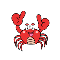 Thumbs up Crab