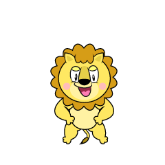Standing Lion