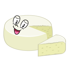 Cut White Cheese