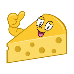 Thumbs up Cheese
