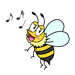 Singing Honey Bee