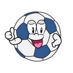 Thumbs up Soccer Ball