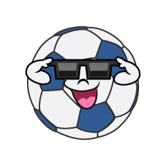 Soccer Ball with Sunglasses