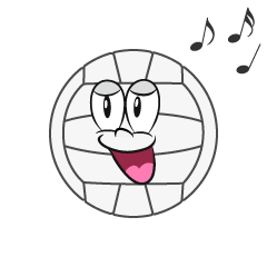 Singing Volleyball