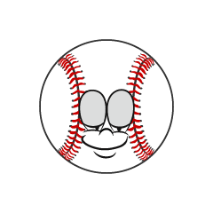 Sleeping Baseball