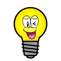 Laughing Light Bulb