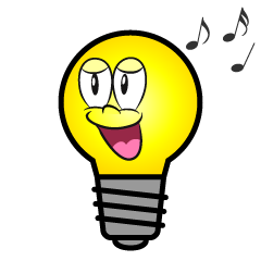 Singing Light Bulb