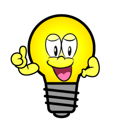 Thumbs up Light Bulb