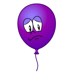 Worried Balloon
