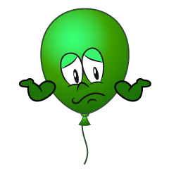 Troubled Balloon