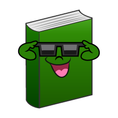 Book with Sunglasses