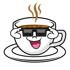 Coffee with Sunglasses