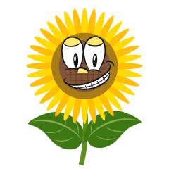 Grinning Sunflower