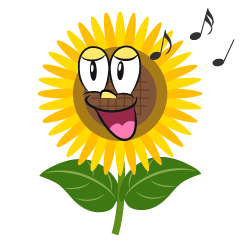 Singing Sunflower