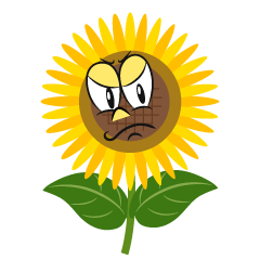 Angry Sunflower