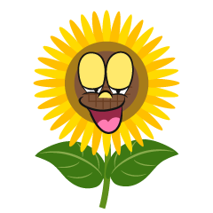 Relaxing Sunflower