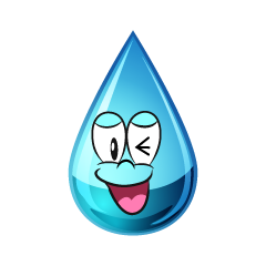 Laughing Water Drop