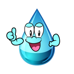Thumbs up Water Drop