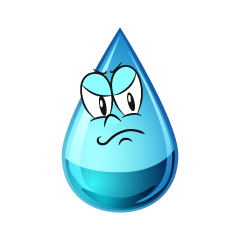 Angry Water Drop