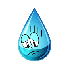 Depressed Water Drop
