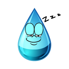 Sleeping Water Drop