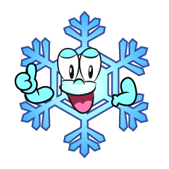 Thumbs up Snowflake