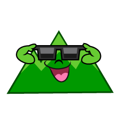 Mountain with Sunglasses