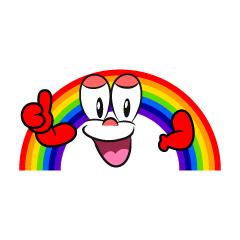 Thumbs up Rainbow