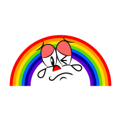 Crying Rainbow