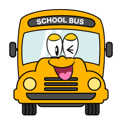 Laughing School Bus