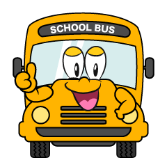 Thumbs up School Bus