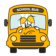 Crying School Bus