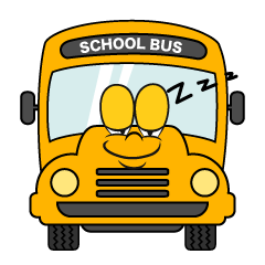Sleeping School Bus