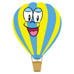 Smiling Hot Air Balloon