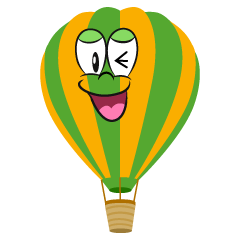 Laughing Hot Air Balloon
