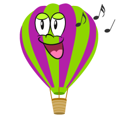 Singing Hot Air Balloon
