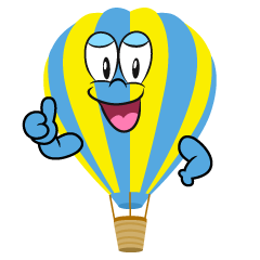Thumbs up Hot Air Balloon