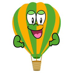Confident Hot Air Balloon