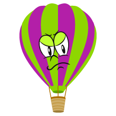 Angry Hot Air Balloon