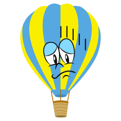 Depressed Hot Air Balloon