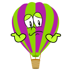 Troubled Hot Air Balloon