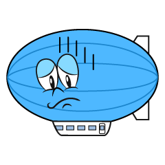 Depressed Airship