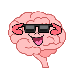 Brain with Sunglasses