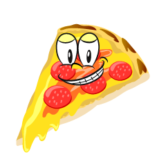 Grinning Pizza