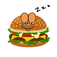 Sleeping Burger