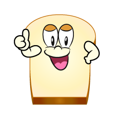 Thumbs up Bread
